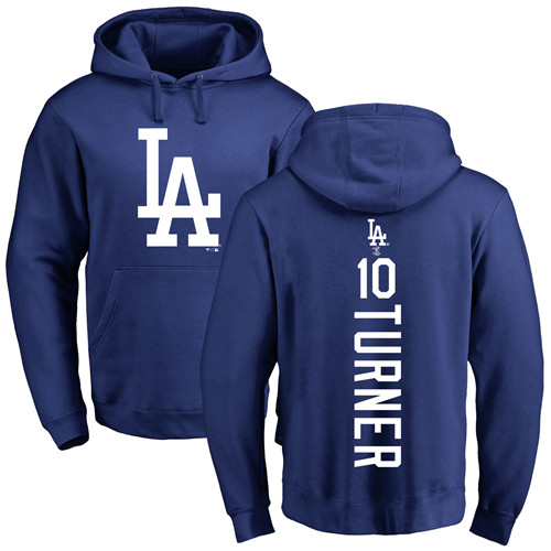a9147c2bb99 Men s Majestic Los Angeles Dodgers  10 Justin Turner Replica Green Salute  to Service MLB Jersey
