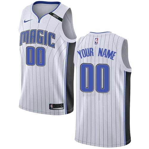 316c6481b Women s Adidas Orlando Magic Customized Authentic White Home NBA Jersey