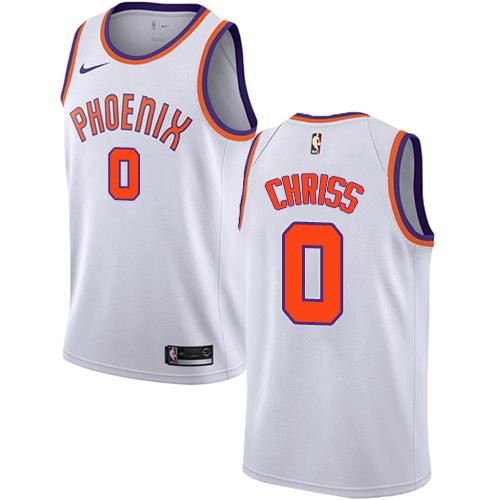 Men s Adidas Phoenix Suns  0 Marquese Chriss Swingman White Home NBA Jersey 6d4ad7c18