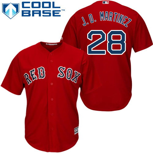 Men's Majestic Boston Red Sox #1 Bobby Doerr Red Flexbase Authentic Collection MLB Jersey