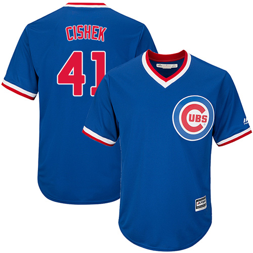 Men's Majestic Chicago Cubs #1 Kosuke Fukudome Royal Blue Flexbase Authentic Collection MLB Jersey