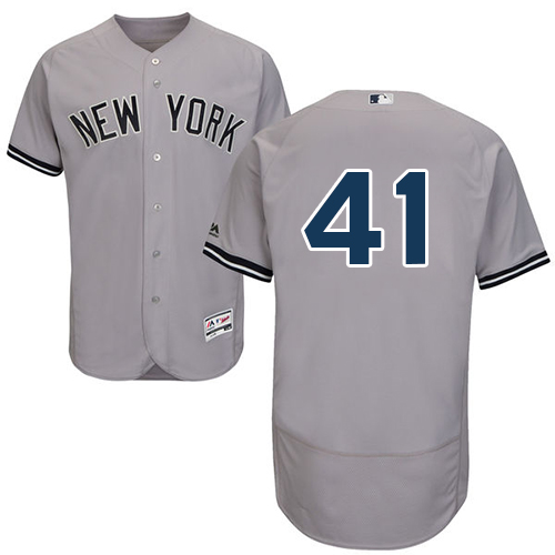 Men's Majestic New York Yankees #2 Derek Jeter Navy Flexbase Authentic Collection MLB Jersey