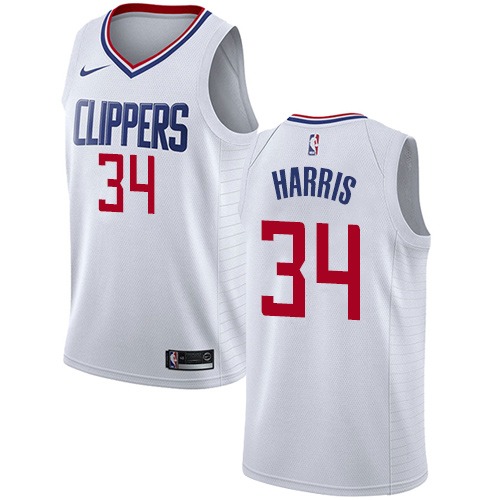 Men's Adidas Los Angeles Clippers #3 Chris Paul Authentic Red/Blue Split Fashion NBA Jersey