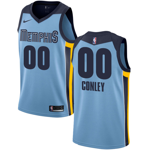 Men's Nike Memphis Grizzlies Customized Authentic Light Blue NBA Jersey Statement Edition
