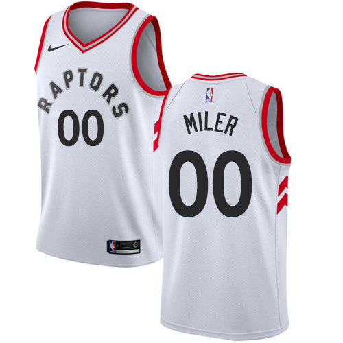 Men's Adidas Toronto Raptors Customized Authentic White Home NBA Jersey