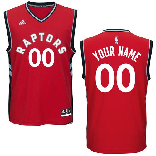Youth Nike Toronto Raptors Customized Authentic Red Road NBA Jersey - Icon Edition