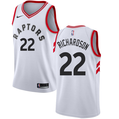 Men's Adidas Toronto Raptors #20 Bruno Caboclo Authentic White Home NBA Jersey