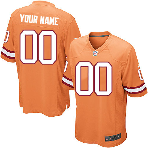 Youth Nike Tampa Bay Buccaneers Customized Limited Orange Glaze Alternate NFL Jersey